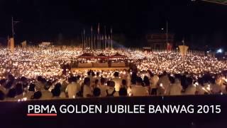 PBMA GOLDEN JUBILEE BANWAG 2015