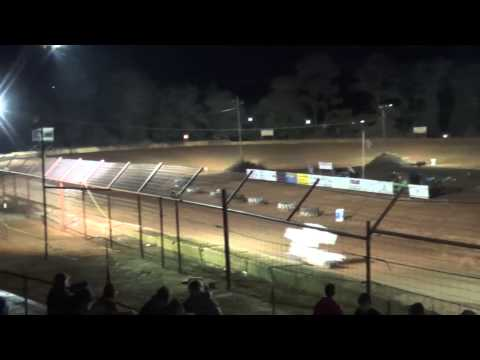 Gulf Coast Winged Mini Sprints Feature @ Flomtaton Speedway 11/30/13