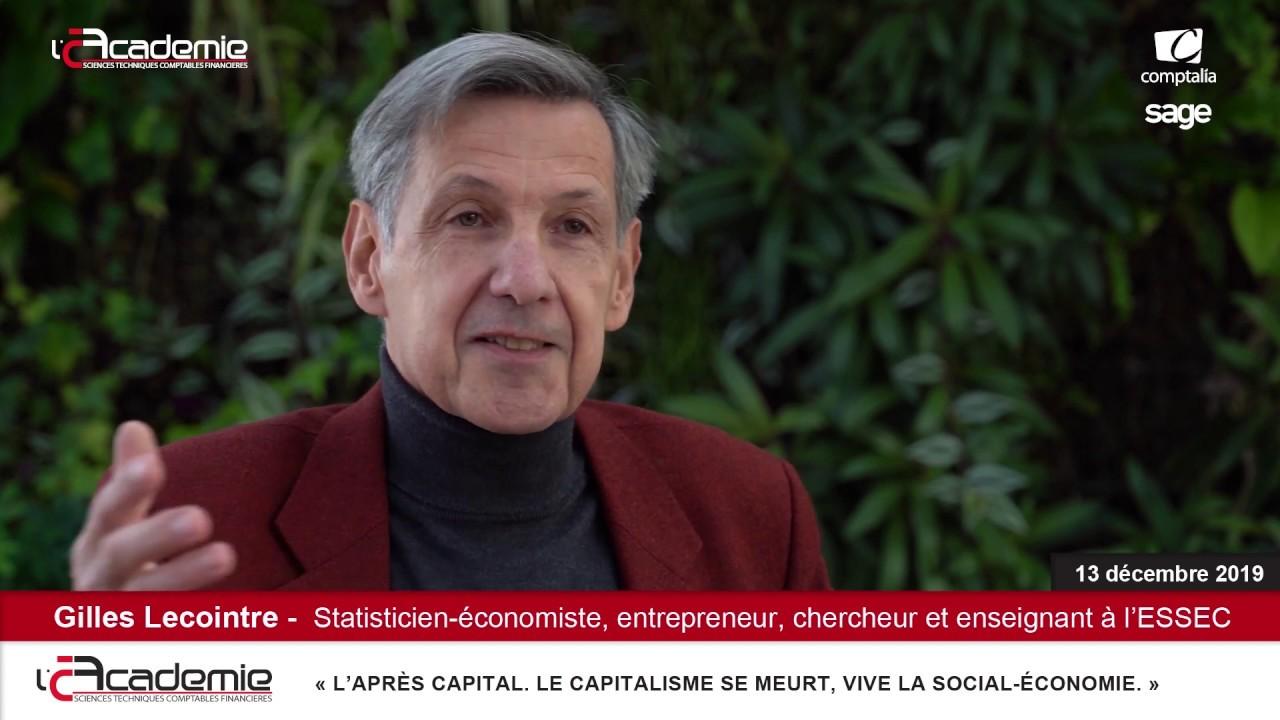 Les Entretiens de l'Académie : Gilles Lecointre