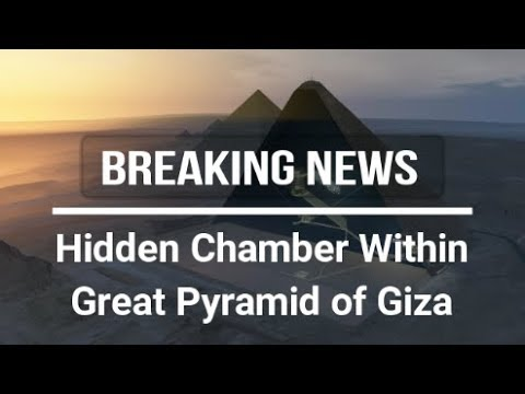 Hidden Chamber Found Within Great Pyramid of Giza