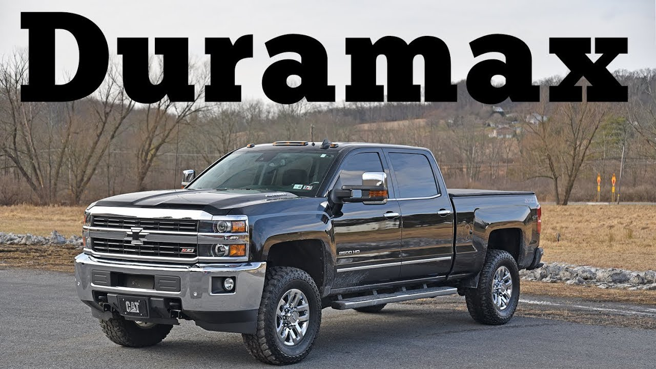 2016 Chevrolet Silverado 2500 HD LTZ Duramax Diesel Allison Z71 K2XX: Regular Car Reviews - YouTube