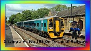 UK Class 158 Arriva Model | Terminal Railways ROBLOX