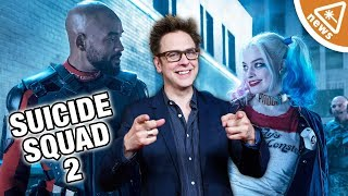 How Will James Gunn Change the Suicide Squad Sequel? (Nerdist News w/ Jessica Chobot)