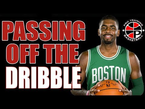 Improve Your Passing | Passing Off The Dribble | Pro Training Basketball