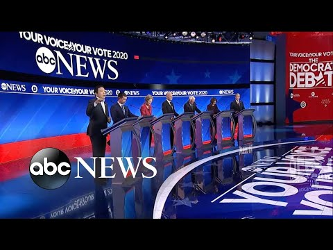 Candidates Talk About What The Country Can Do To Get People Out Of Poverty | ABC News