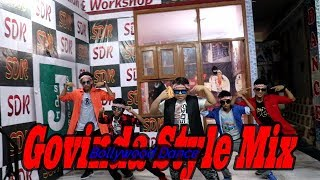 govinda mixx song  l Dance video  l choreography  by l Rajat sdrboy