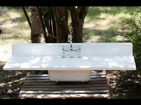 Outdoor Garden Sink Youtube
