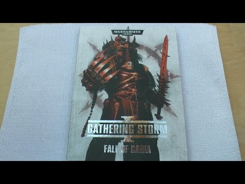 Gathering Storm - Fall of Cadia - Review (WH40K)