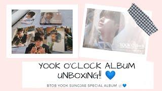 YOOK O'CLOCK SPECIAL ALBUM UNBOXING ? | BTOB SUNGJAE | 비투비 육…