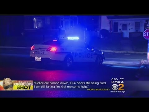 Officers Ambushed In Canonsburg, 1 Killed