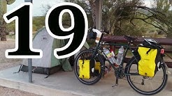 bicycle touring, Phoenix AZ, Maricopa AZ, Gila Bend AZ, Sonoran Desert National Monument