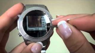 Nanotech watch, cell, internet, mp3 and video. It