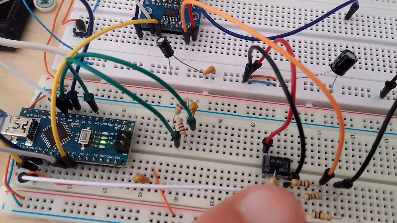 Arduino oscilloscope - DIY entry device | element14 | DIY