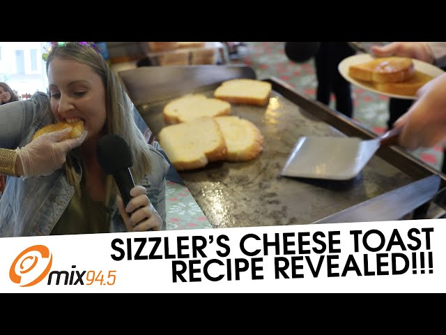 Sizzler Might Be Gone But Long Live Their Cheesy Toast | mix94.5