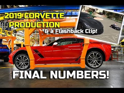 Corvette Total Production Numbers For 2019 On Flashback Friday