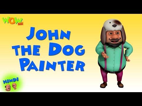 John the Dog Painter -Motu Patlu in Hindi WITH ENGLISH, SPANISH & FRENCH SUBTITLES thumbnail