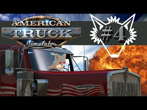 American Truck Simulator | Part 4 | Fatigue, Fuel, Falling Asleep at the Wheel - Gameplay Let's Play