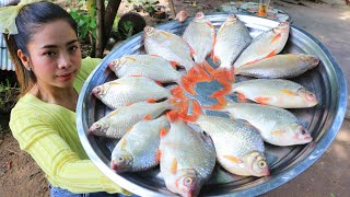 Cooking fish fried with vegetable and chili sauce recipe