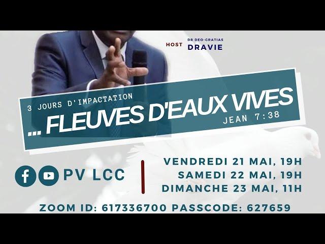 DES FLEUVES D'EAUX VIVES COULERONT DE VOTRE SEIN.
