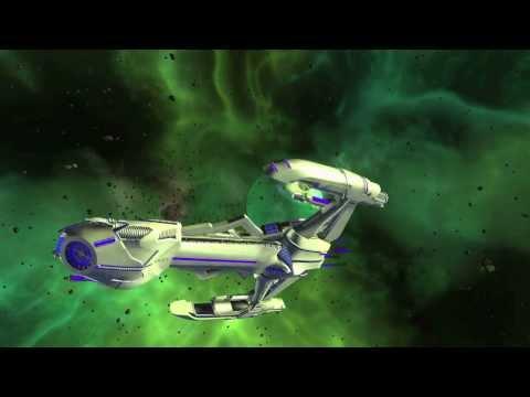 """STAR TREK ONLINE HD """"Klingon Dyson Sphere Starship"""" (2014)1080p"""