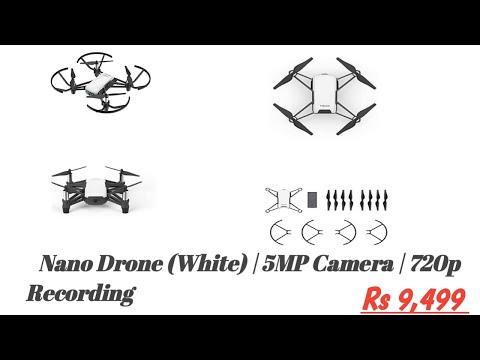 DJI Tello Nano Drone(White) 5MP Camera  720p Recording Intel Processor  Up to 13 mins of Flight time