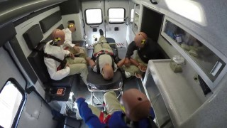 Ambulance Crash Side Impact - Crash Testing by Braun