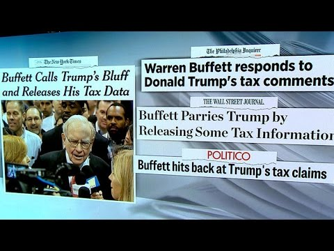 "Source says Warren Buffett was ""very annoyed"" by Trump"