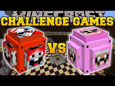 Minecraft: EXPLODINGTNT VS PINK SHEEP CHALLENGE GAMES - Lucky Block Mod - Modded Mini-Game