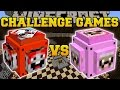 Minecraft: EXPLODINGTNT VS PINK SHEEP CHALLENGE GAMES - Lucky Block Mod - Modded Mini-Game