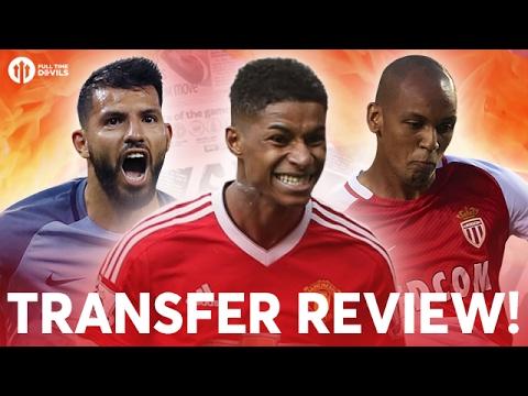Aguero, Fabinho, Rashford?!?! | Manchester United Transfer News Review!