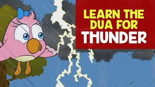 Dua For Thunder | Zaky Cartoon