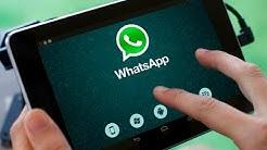 Cómo instalar WhatsApp en una tablet - 3 Métodos Fáciles 2018
