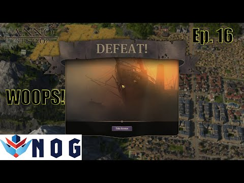 Lets Play Anno 1800 Modded Ep16 | All DLC | What Happened! |