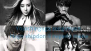 [Lyrics Romanized Engsub] G.Na feat. Rain - What I Want To Do Once I Have A Lover