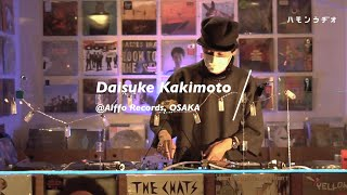 Daisuke Kakimoto @Alffo Records, OSAKA. Supported by Norio Az Music Radio