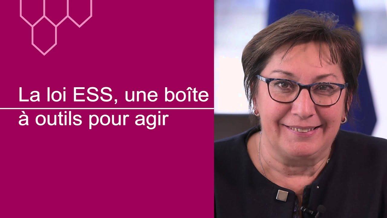 Martine Pinville Veut Promouvoir L Economie Sociale Et Solidaire