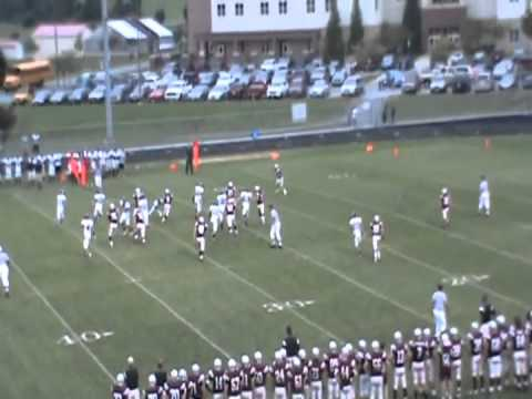 Mike McGraw #7. 2011 Football Highlights, Oakdale High School