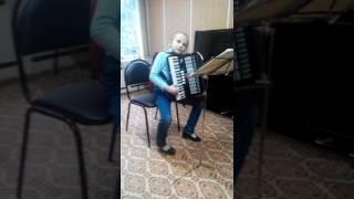 Штейбельт Сонатина,на уроке в музыкальной школе,второй год обучения!🎹