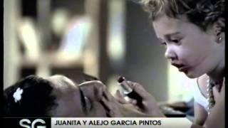Juanita y Alejo Garcia Pintos, comercial -Susana Gimenez 2007
