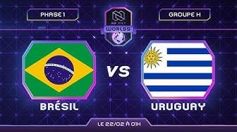 BRESIL vs URUGUAY - Coupe du monde 2020 | Phase 1 - feat. Ashtax et Godsavethefish