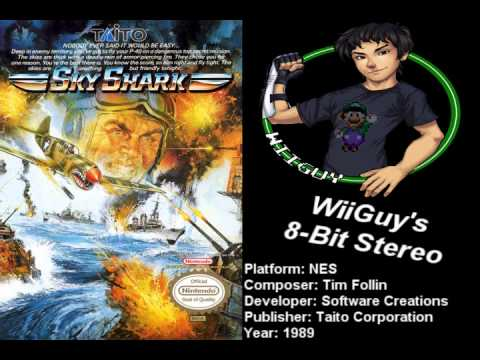 Sky Shark Nes Soundtrack 8bitstereo Youtube