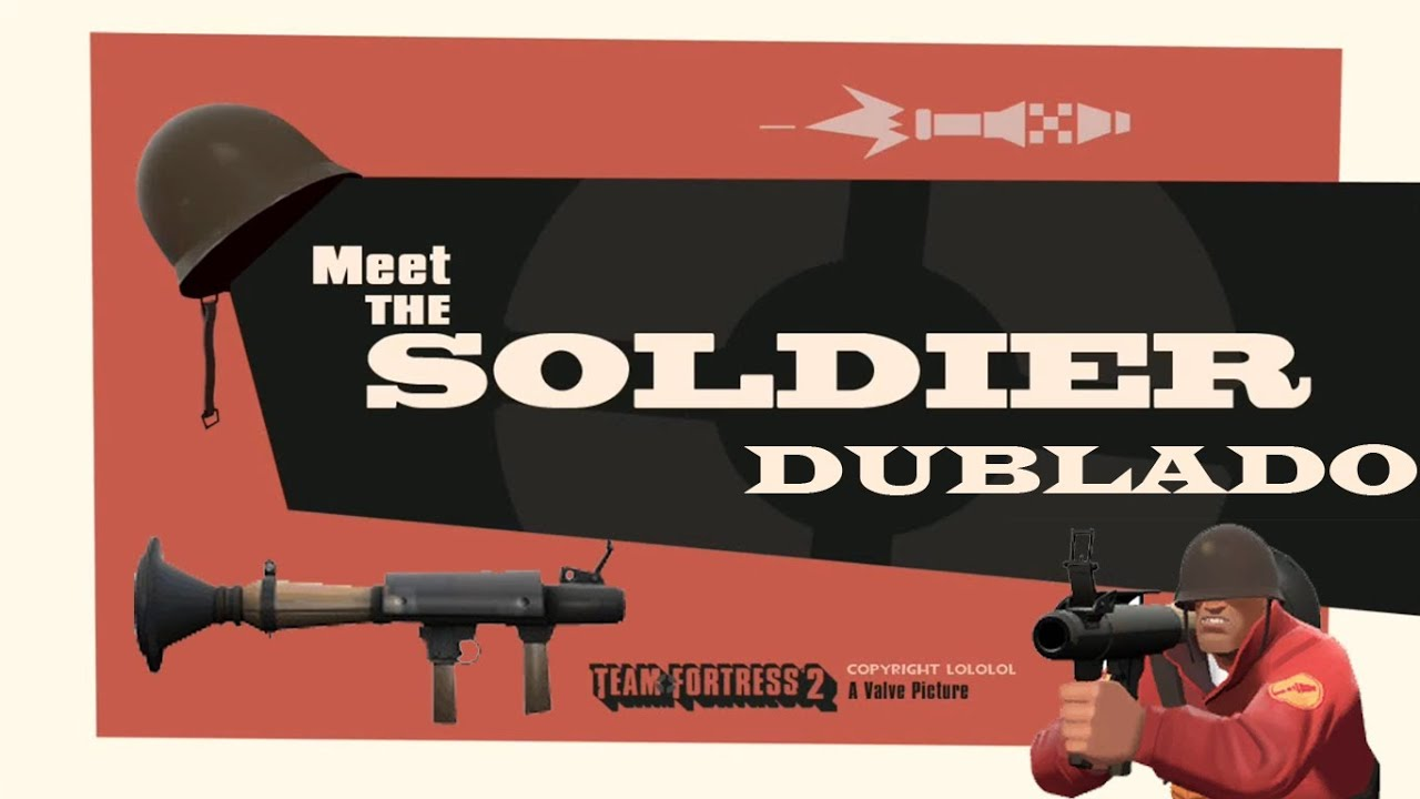 meet the soldier team fortress 2 trailer