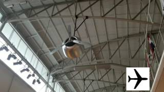 Airplane Ceiling Fan at The Airforce Museum!