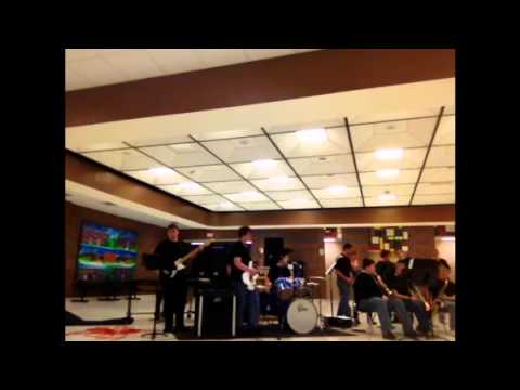 South Vermillion High School Jazz Band Performance 1/24/13