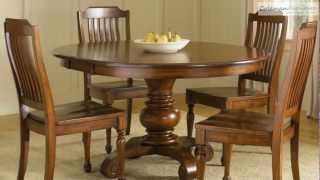 Americana Round Dining Room Collection From Liberty Furniture