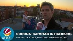 Corona: Cocktail-Service, Balkon-DJane und Burlesque