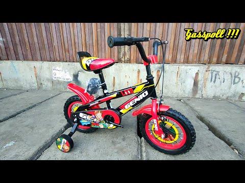 Genio Loco 01 speed Sepeda BMX Anak Review dan Tutorial | Kids Bike Loco @HARLIE BROTHER