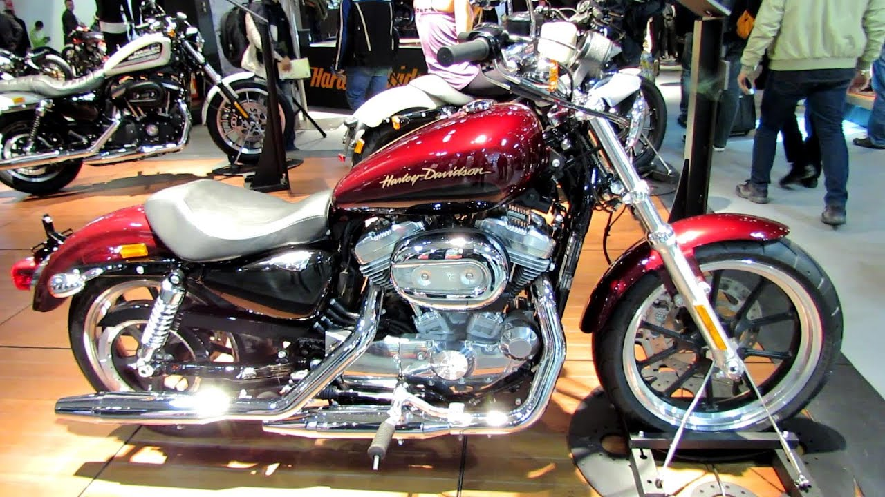 2014 Harley Davidson Sportster Xl883l Superlow Walkaround