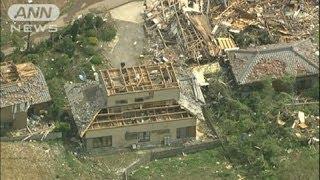茨城で突風が発生、約30棟被害、10人以上が負傷か(12/05/06) thumbnail