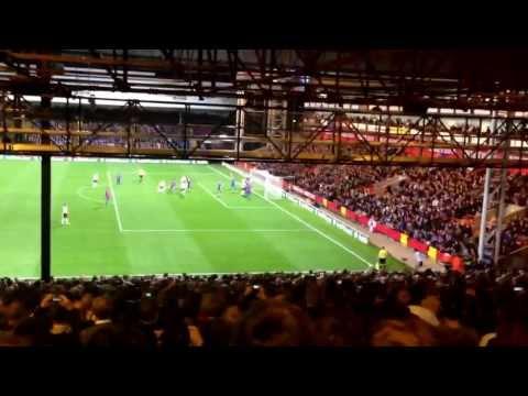 Senderos Goal vs. Crystal Palace